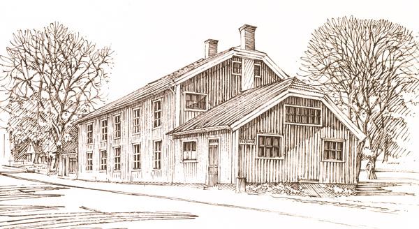 Gamla Bankgården i Vrigstad