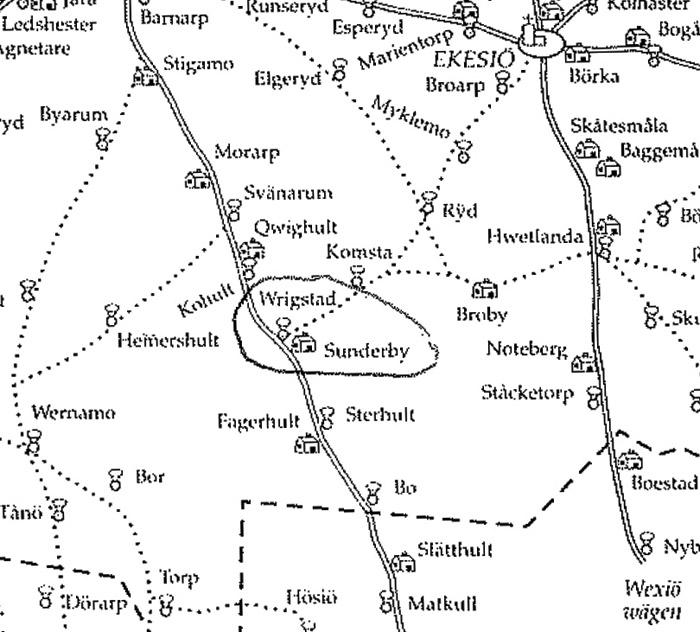 Postvägare 1750